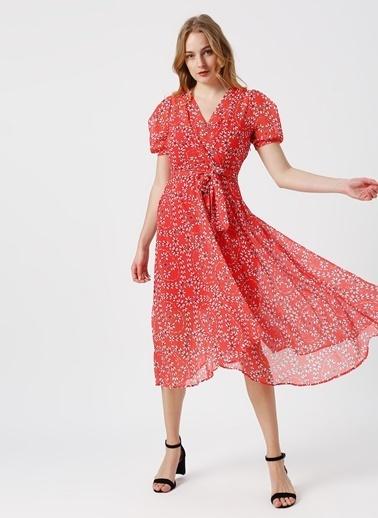 Random Elbise Kırmızı